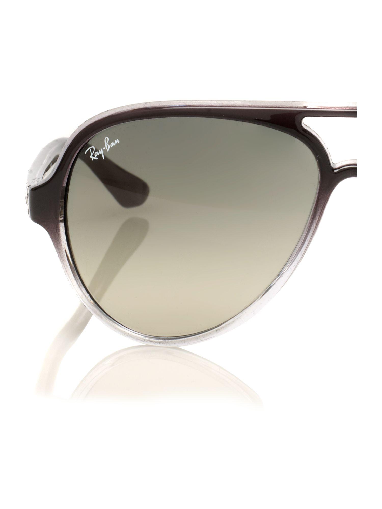 men ray ban sunglasses  Ray-ban Mens Cats 5 Grey Sunglasses in Gray for Men