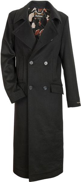 Temperley London Barbour Maple Wool Coat In Black Lyst