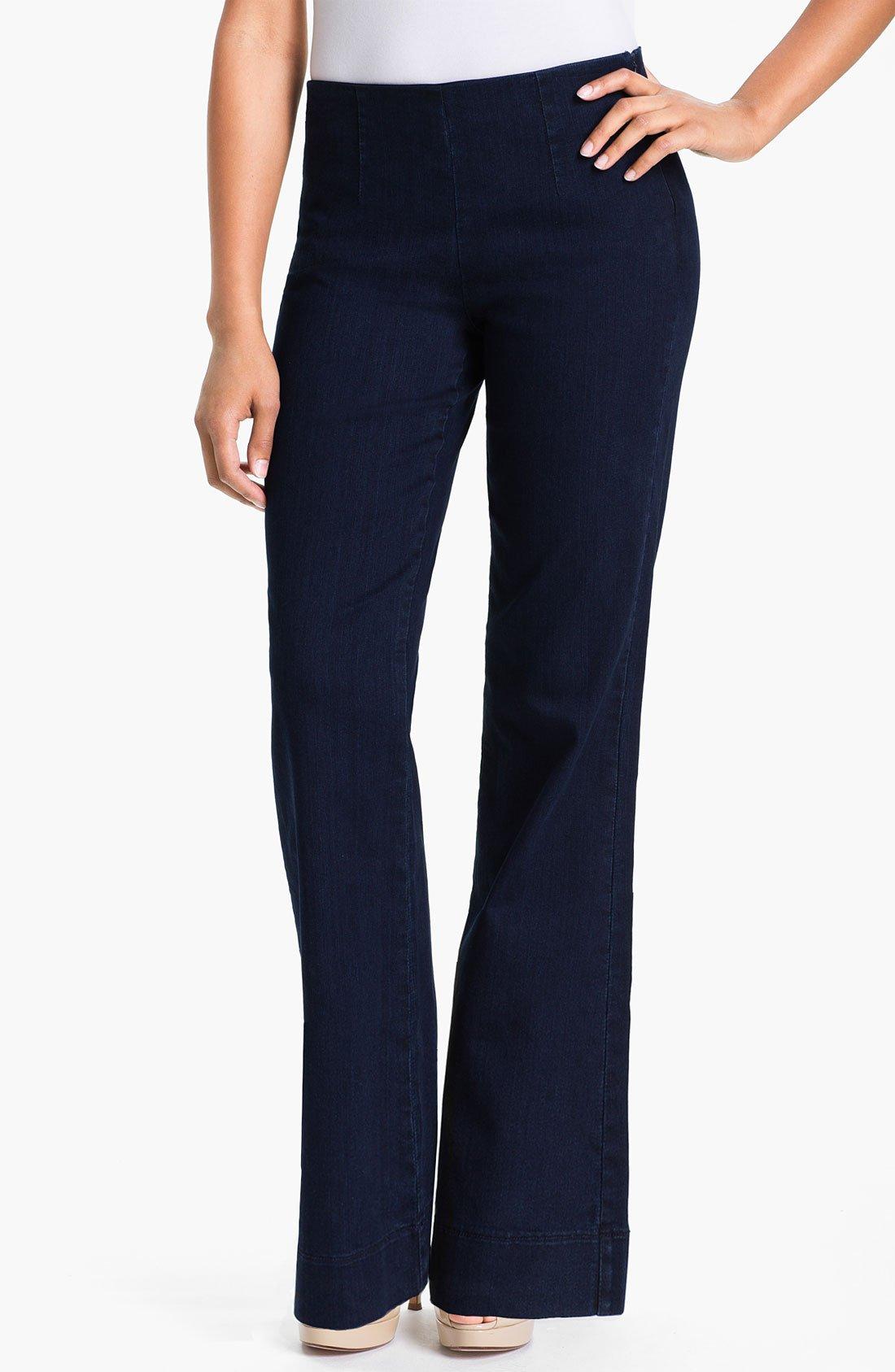 not your daughter 39 s jeans nydj morgan wide leg trouser. Black Bedroom Furniture Sets. Home Design Ideas