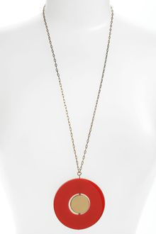 Kate Spade Come Full Circle Long Pendant Necklace - Lyst