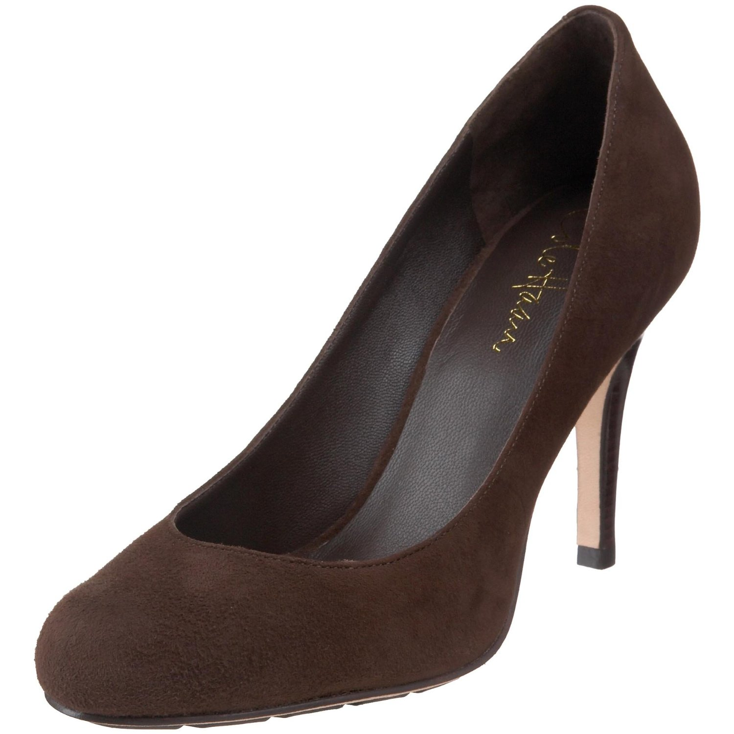 cole haan cole haan womens air talia pump in brown dark chocolate suede lyst. Black Bedroom Furniture Sets. Home Design Ideas
