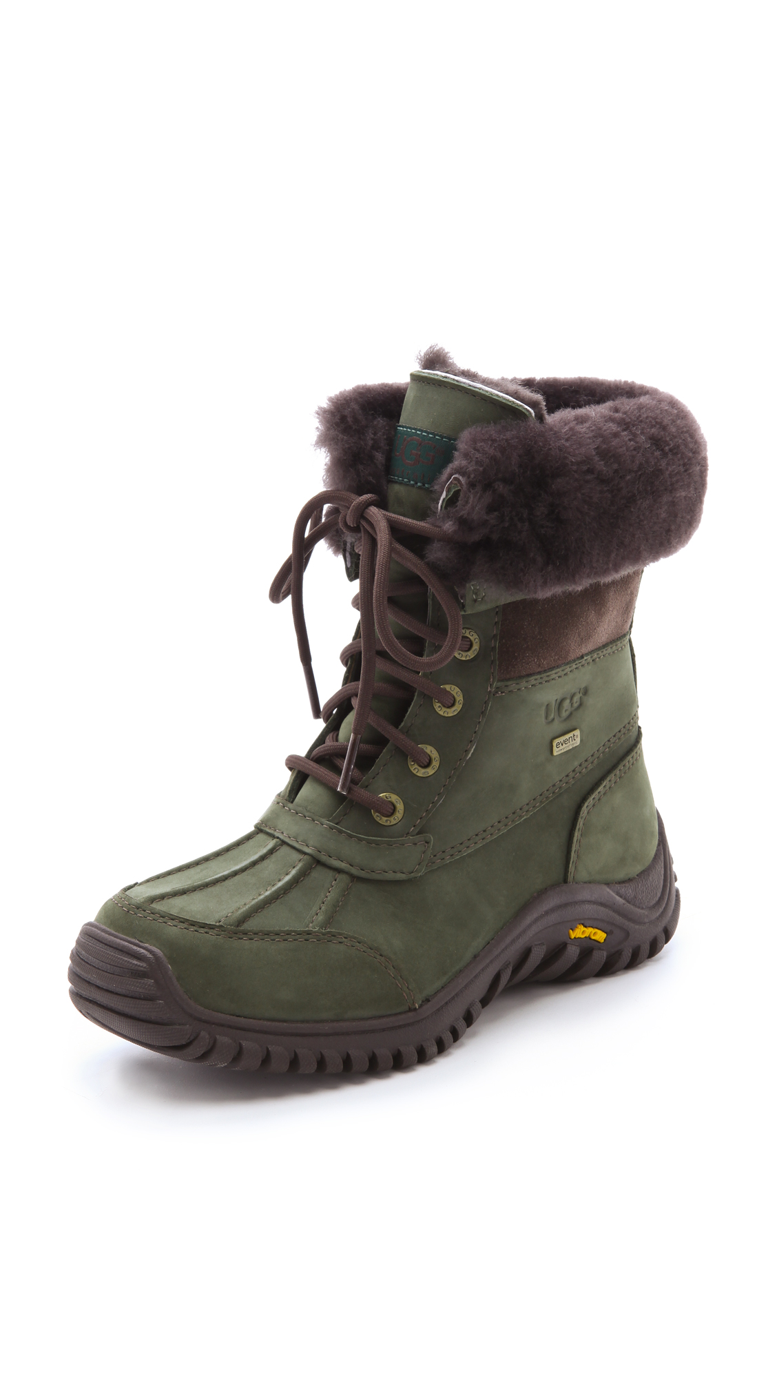 Ugg Adirondack Boots In Green Pine Lyst