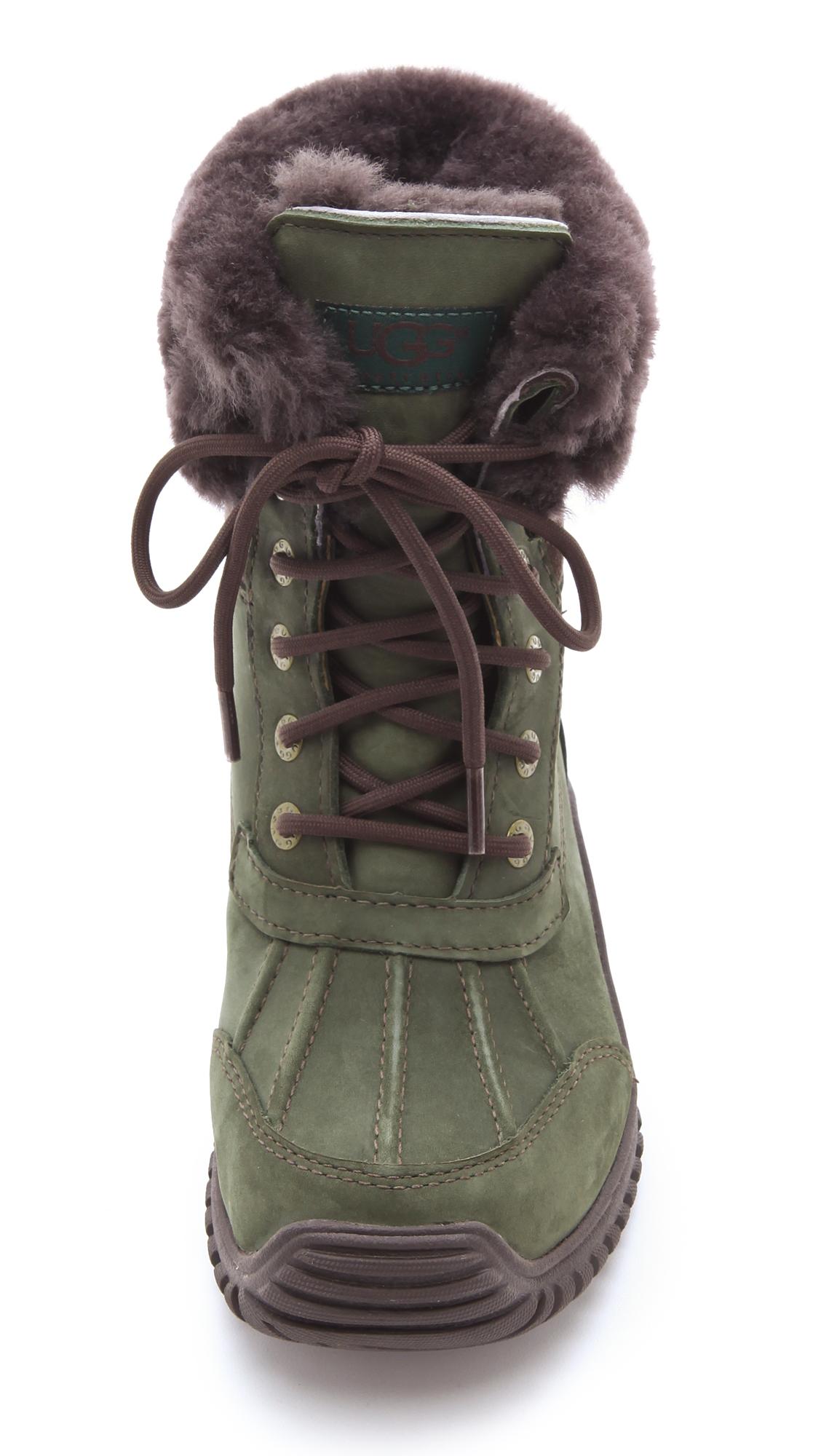 green adirondack ugg boots