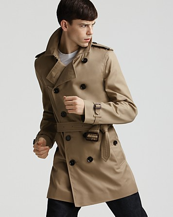 Burberry Britton Rain Trench Coat in Natural for Men | Lyst