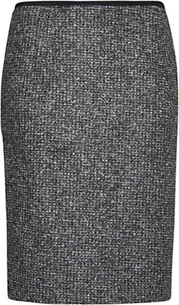 Mango Mango Midi Skirt Dark Grey in Gray (grey)