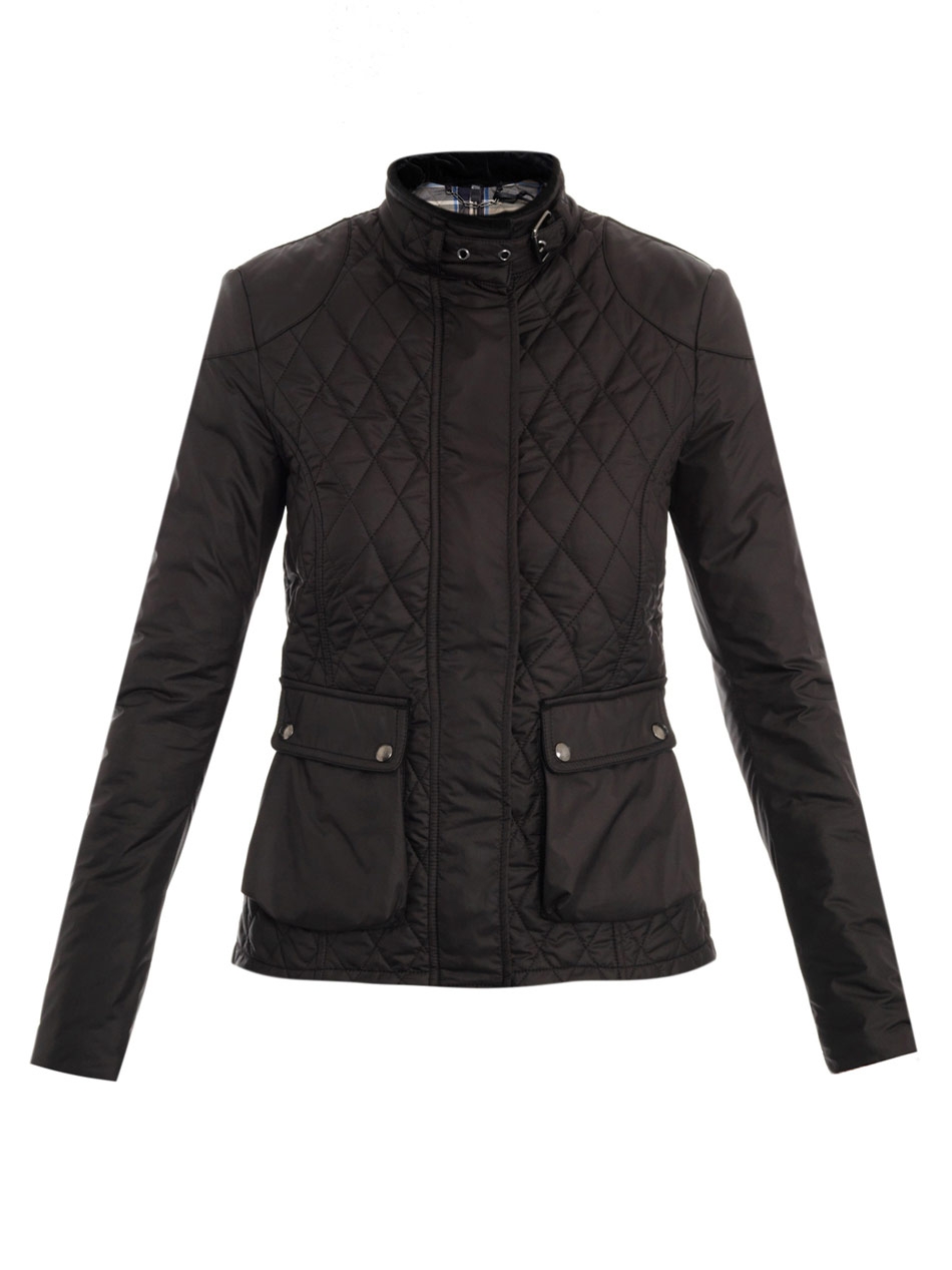 Belstaff Aynsley Quilted Jacket in Black | Lyst