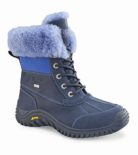Ugg Winter Boots Adirondack Ii In Blue Navy Lyst