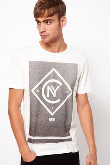 River Island Tshirt with Nyc Logo - Lyst