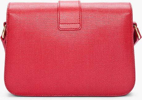Yves Saint Laurent Medium Red Chyc Shoulder Bag 94