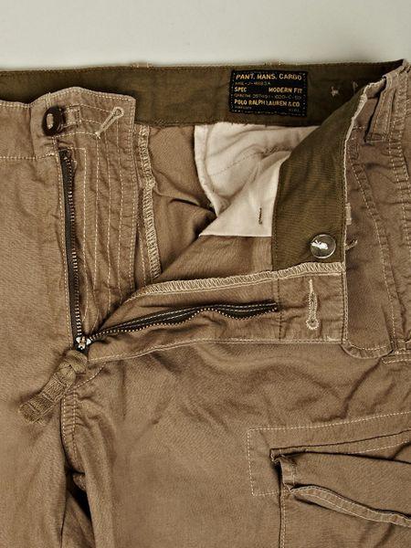 Polo Ralph Lauren Mens Cargo Pants in Khaki for Men | Lyst