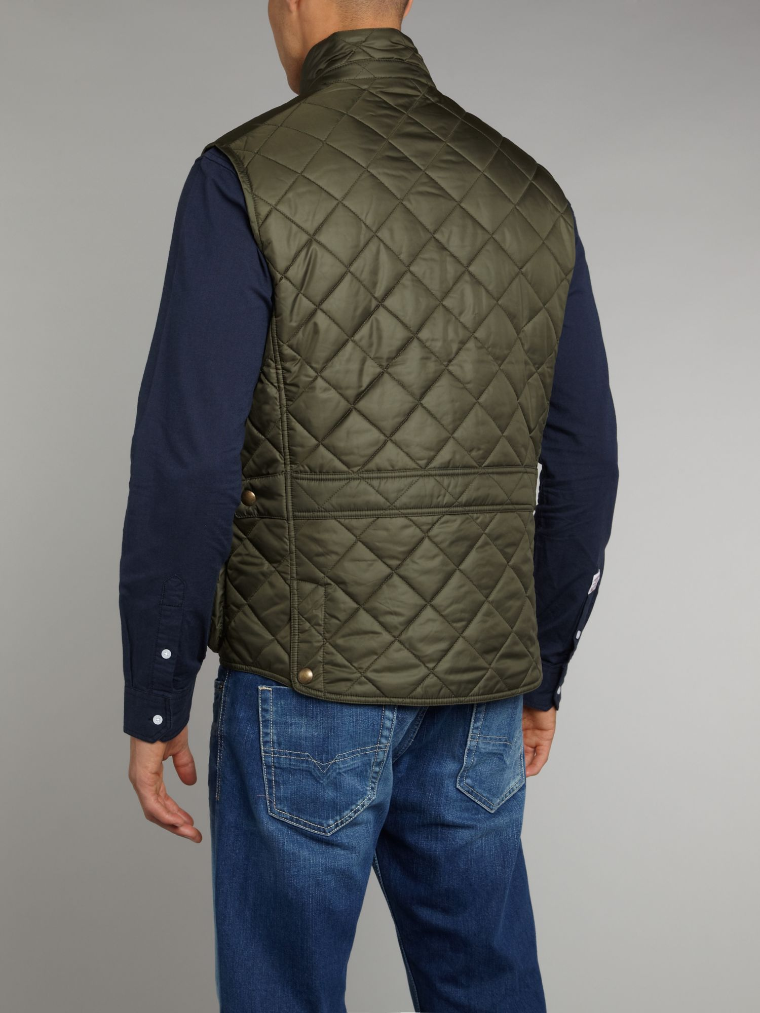 Polo ralph lauren Quilted Vest in Green for Men | Lyst : ralph lauren quilted vest mens - Adamdwight.com