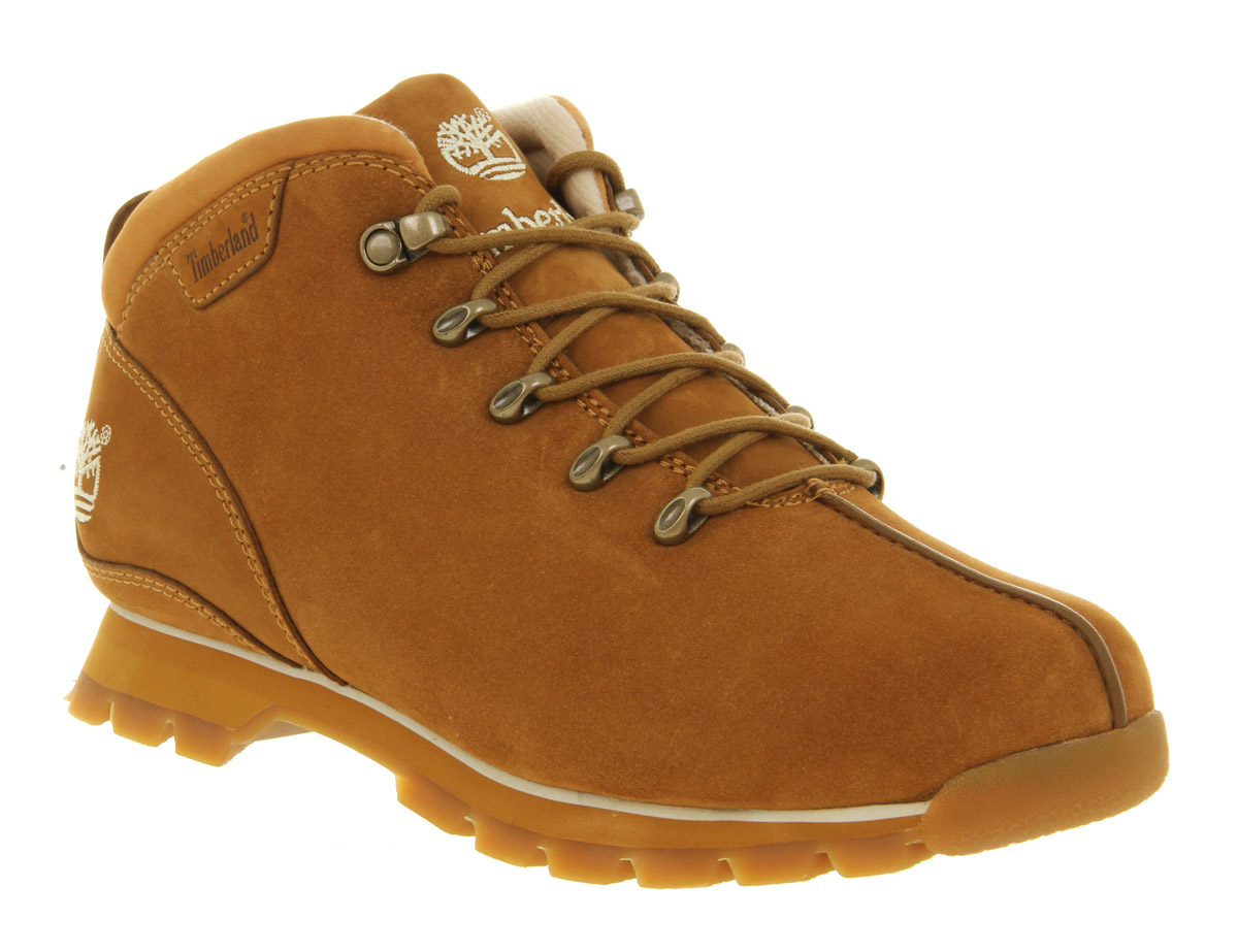 26bc1fce5fa Timberland Splitrock Hiker Wheat Nubuck in Brown for Men - Lyst