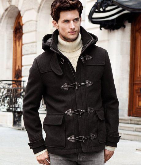 H&m Coat in Black For Men