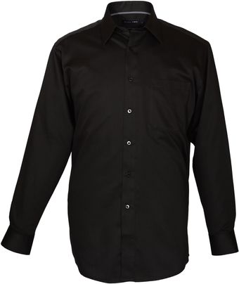 Double Two Cotton Rich Plain Formal Shirt - Lyst