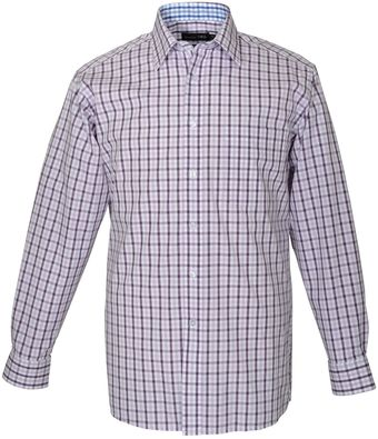 Double Two Cotton Gingham Check Formal Shirt - Lyst