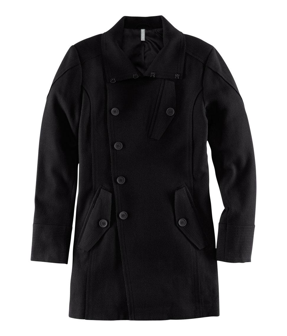 H Amp M Coat In Black For Men Lyst