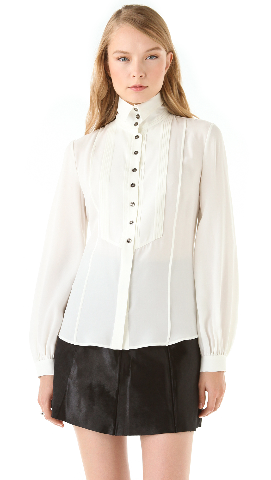 Find great deals on eBay for high collar blouse. Shop with confidence.