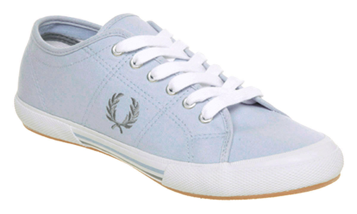 Fred Perry Vintage Tennis Lapiscloudwht In Blue For Men Lyst