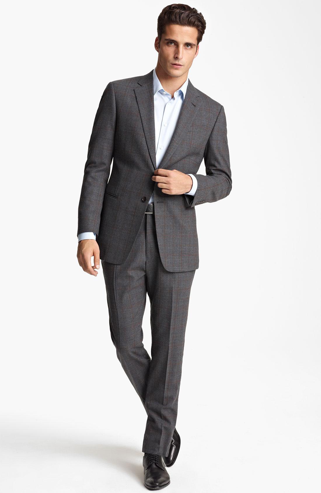 Armani 3 piece suits