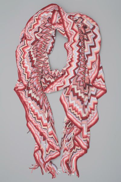 Missoni Scarf in Red