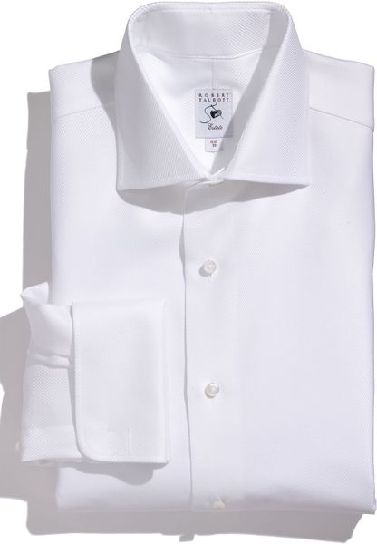 robert talbott estate steep regular fit twill dress shirt