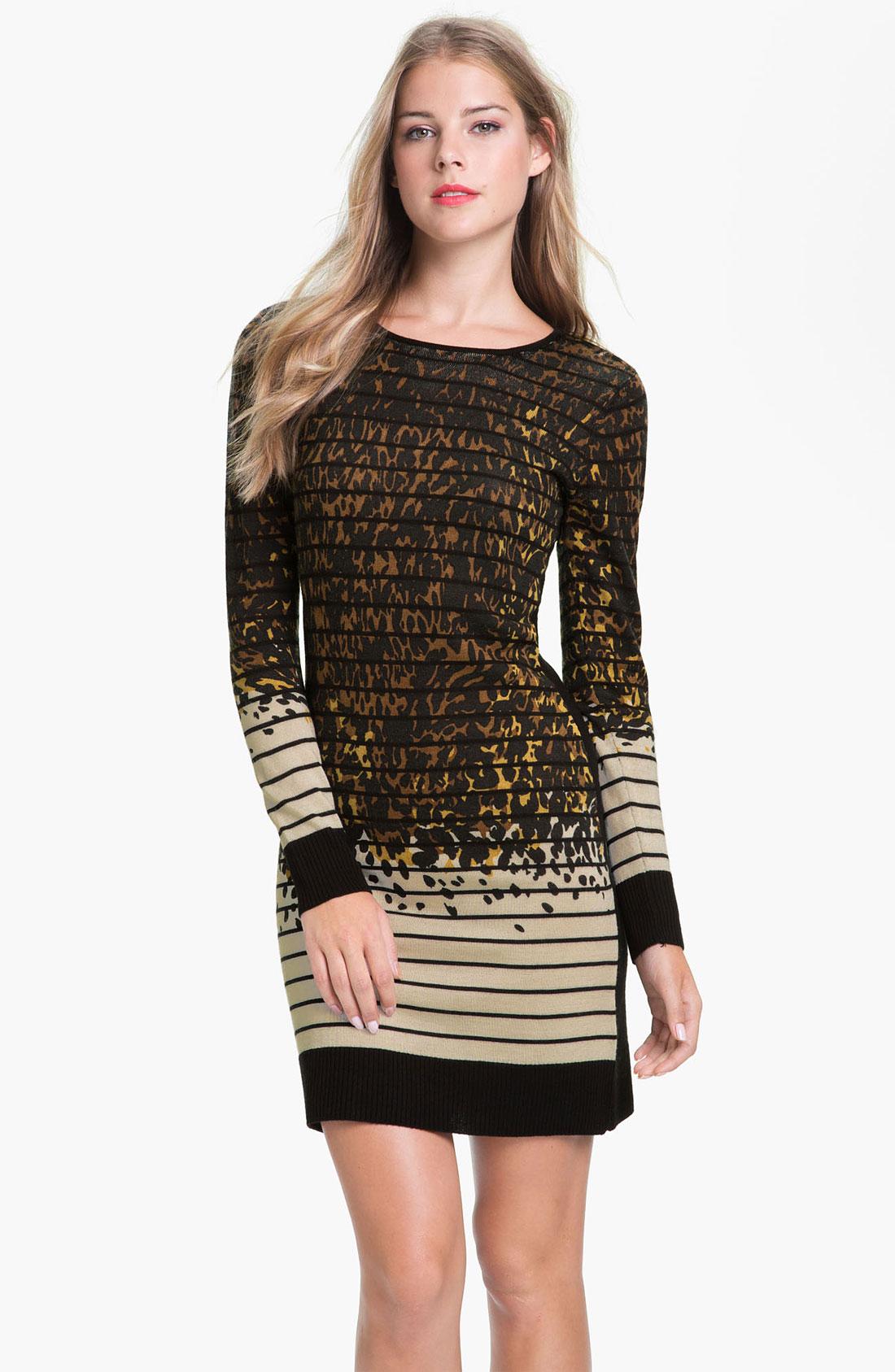 Long Sleeve Sweater Dresses