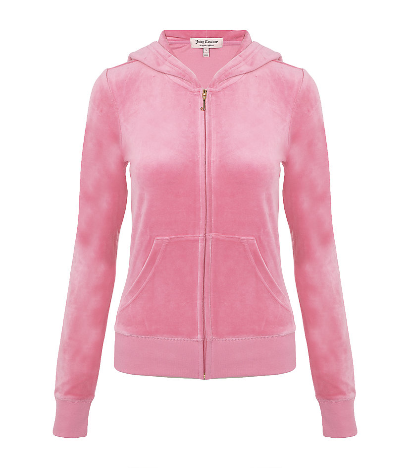Juicy Couture Juicy Loves Couture Velour Tracksuit Top in ...