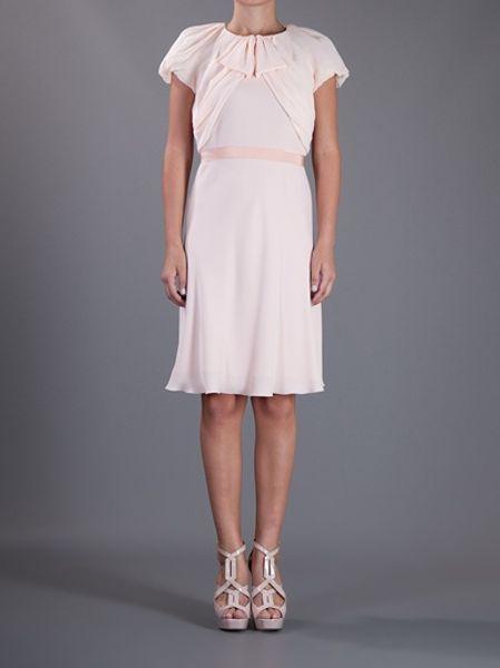 Max Mara Daniel Dress In Pink Lyst