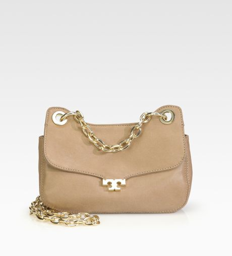 Tory Burch Megan Shoulder Bag Taupe 81