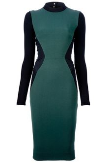 Victoria Beckham Pencil Dress - Lyst