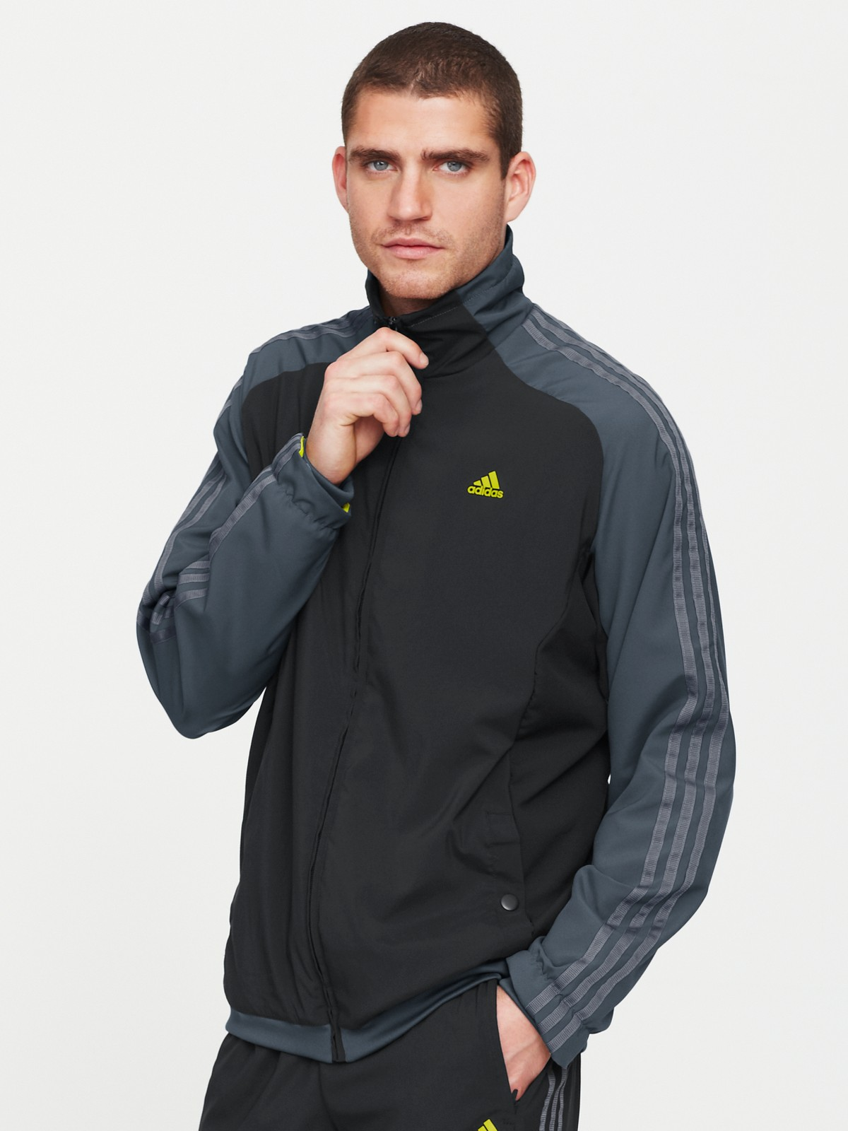 Adidas Adidas Mens Clima 365 Mens Tracksuit In Black For Men Lyst