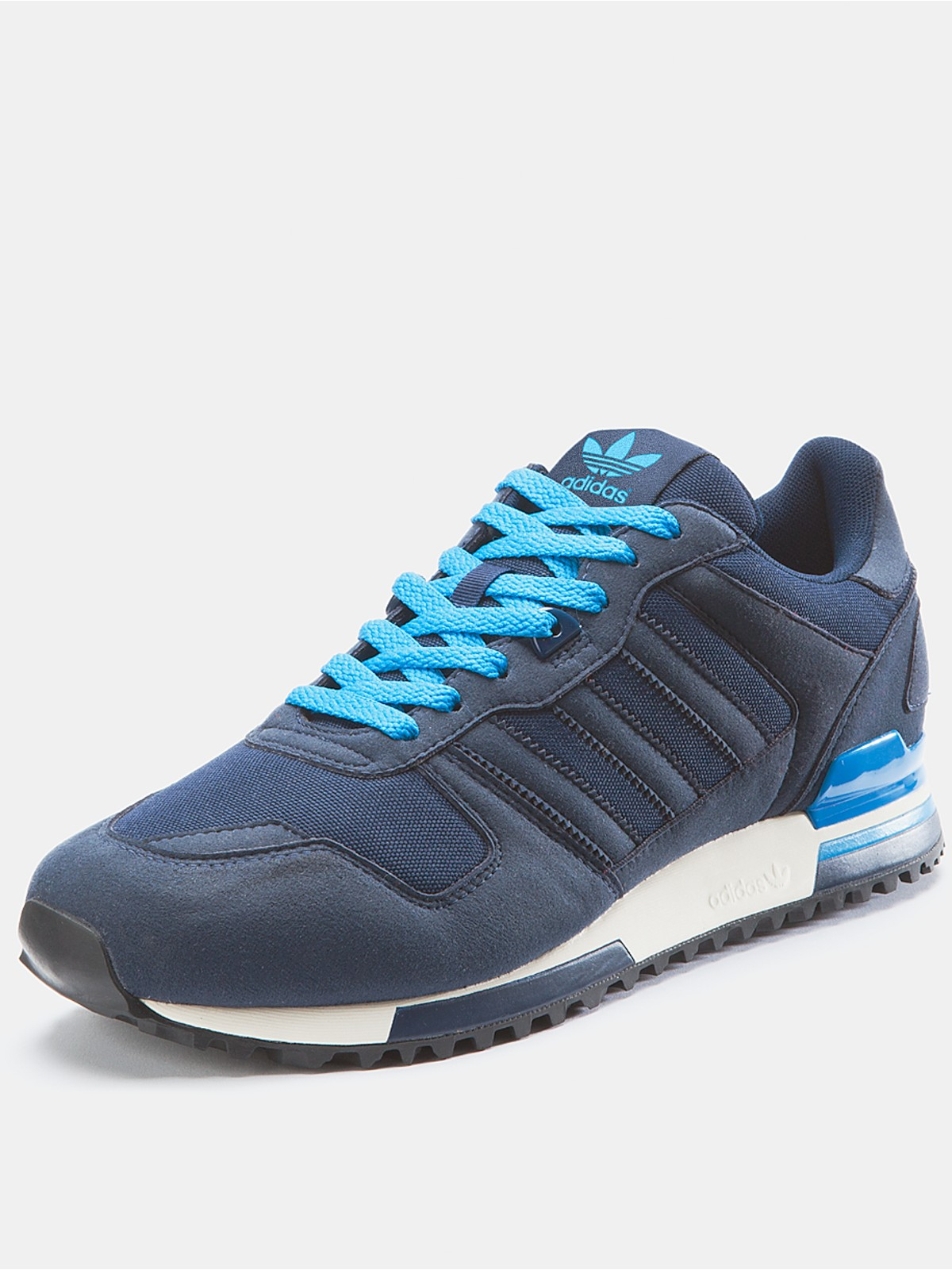 adidas adidas originals zx 700 mens suede trainers in blue. Black Bedroom Furniture Sets. Home Design Ideas