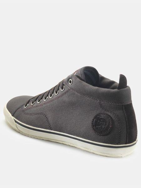 diesel diesel mens midday casual shoes in gray for