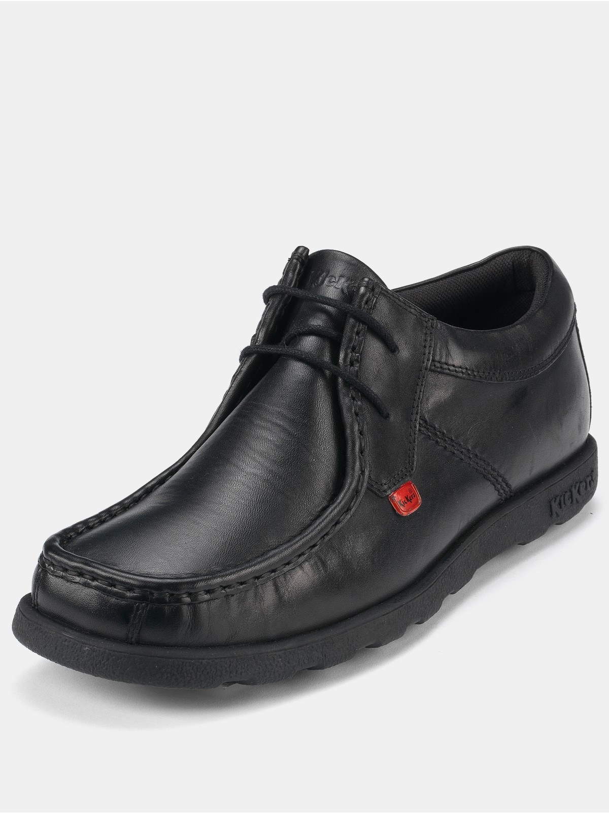 Kickers Mens Fragma Lace Up Shoes in Black for Men | Lyst