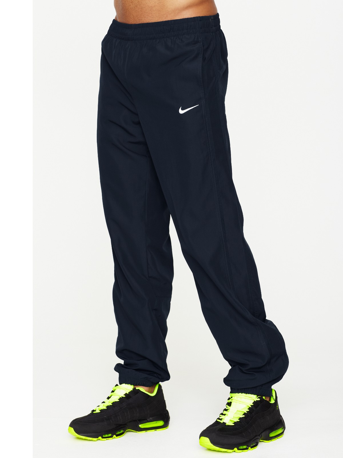 the gallery for gt black nike sweatpants for men