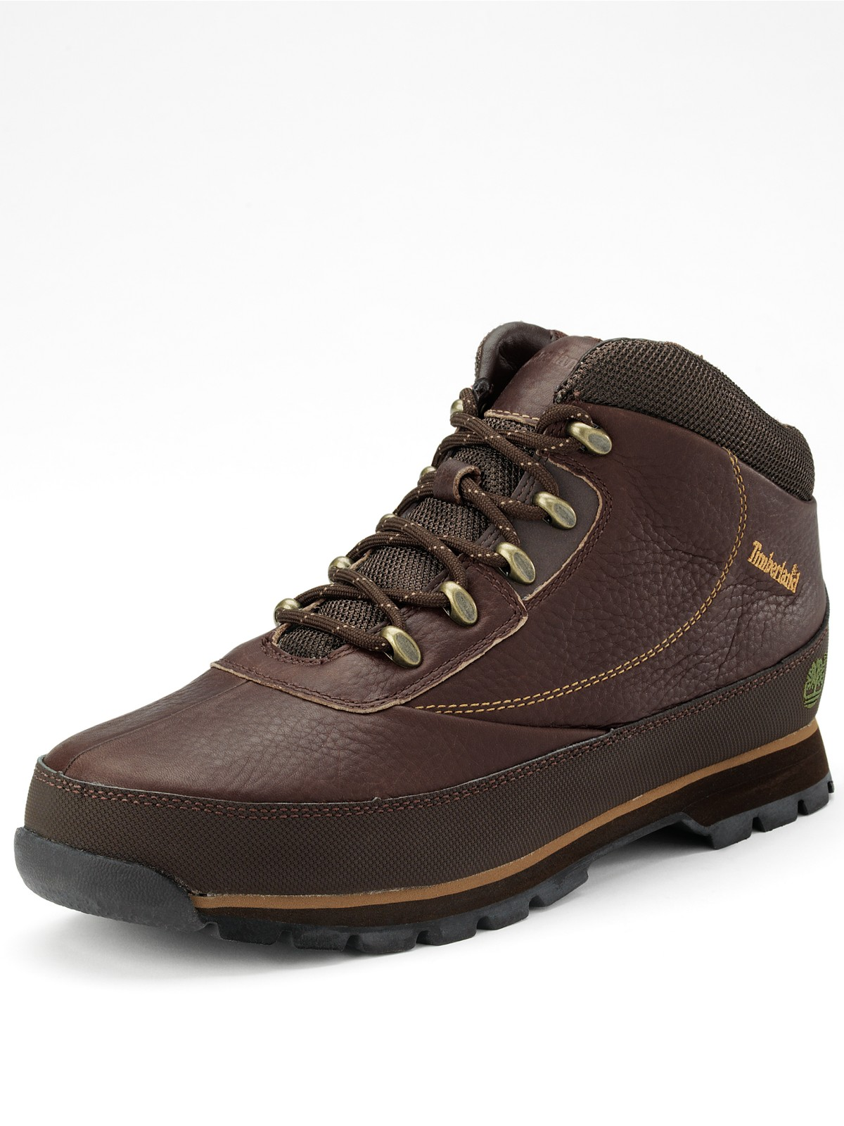 Timberland Euro Brook Hiker Mens Boots In Brown For Men Lyst