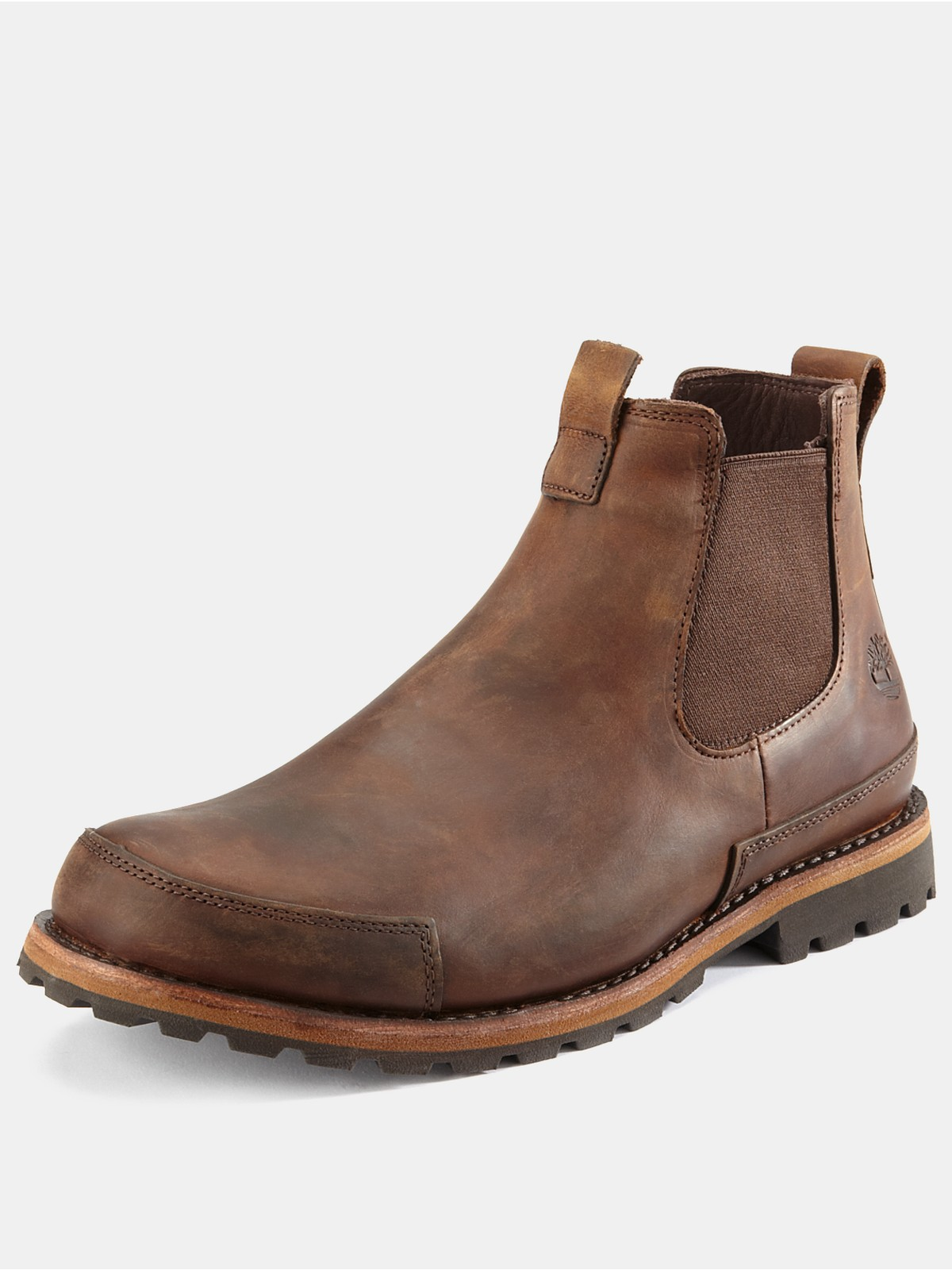 timberland chelsea boots in brown for men copper roughcut lyst. Black Bedroom Furniture Sets. Home Design Ideas