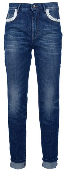 Dolce & Gabbana Slim Fit Jean in Blue