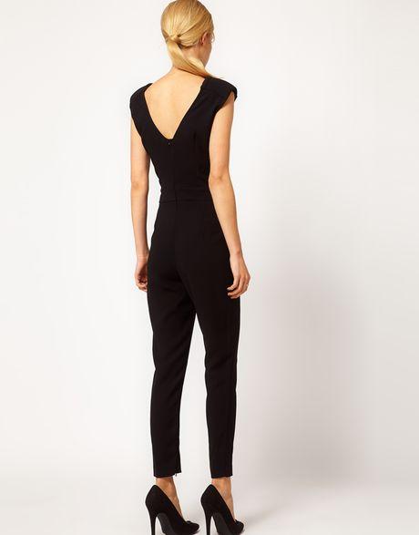 Original Myntra MANGO Women Black Jumpsuit 748384  Buy Myntra MANGO Jumpsuit