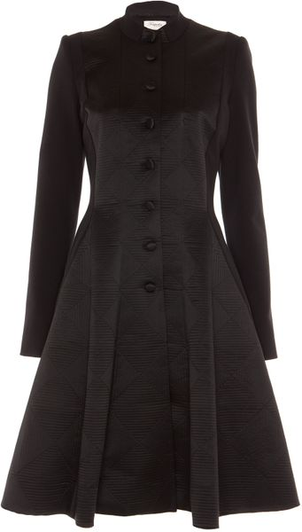 Temperley London Noa Coat in Black - Lyst