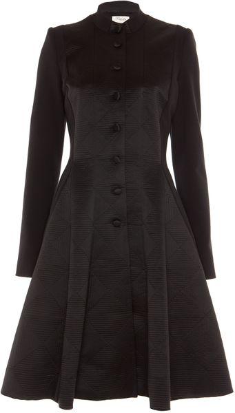 Temperley London Noa Coat in Black