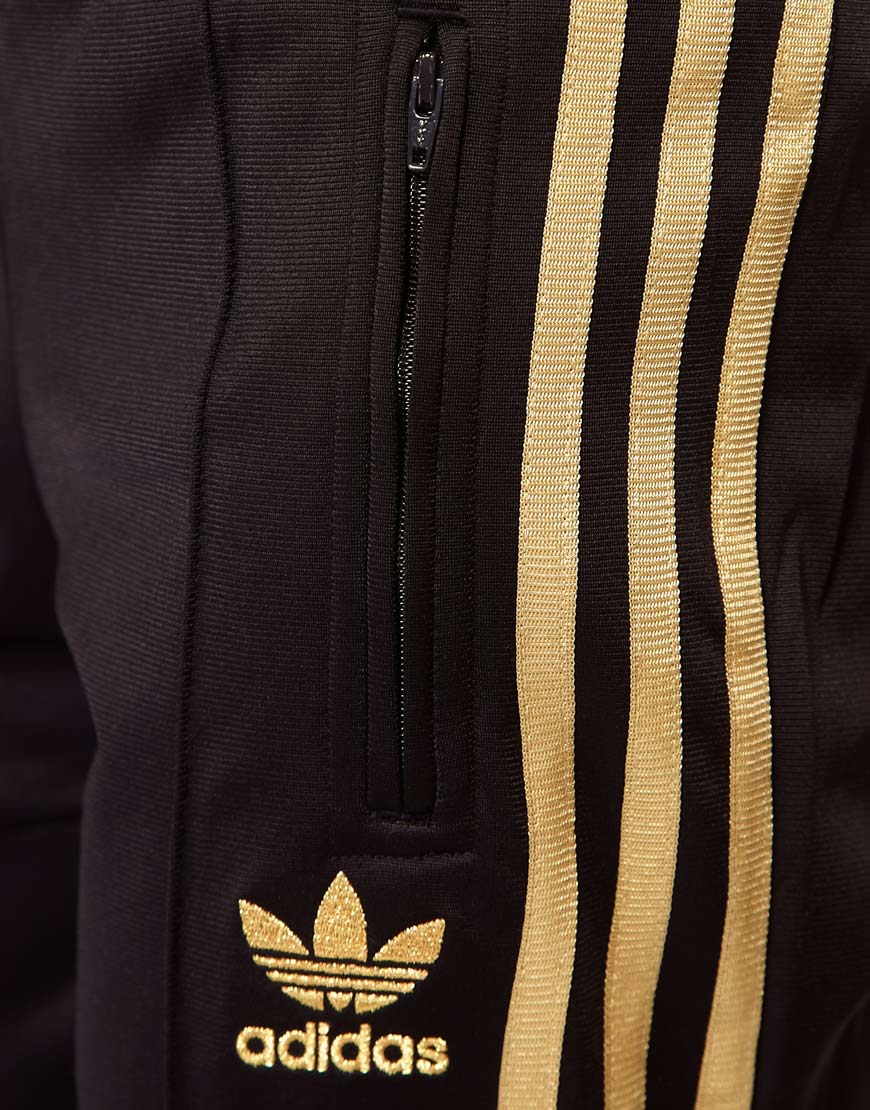 Lyst Adidas Firebird Track Pants In Brown