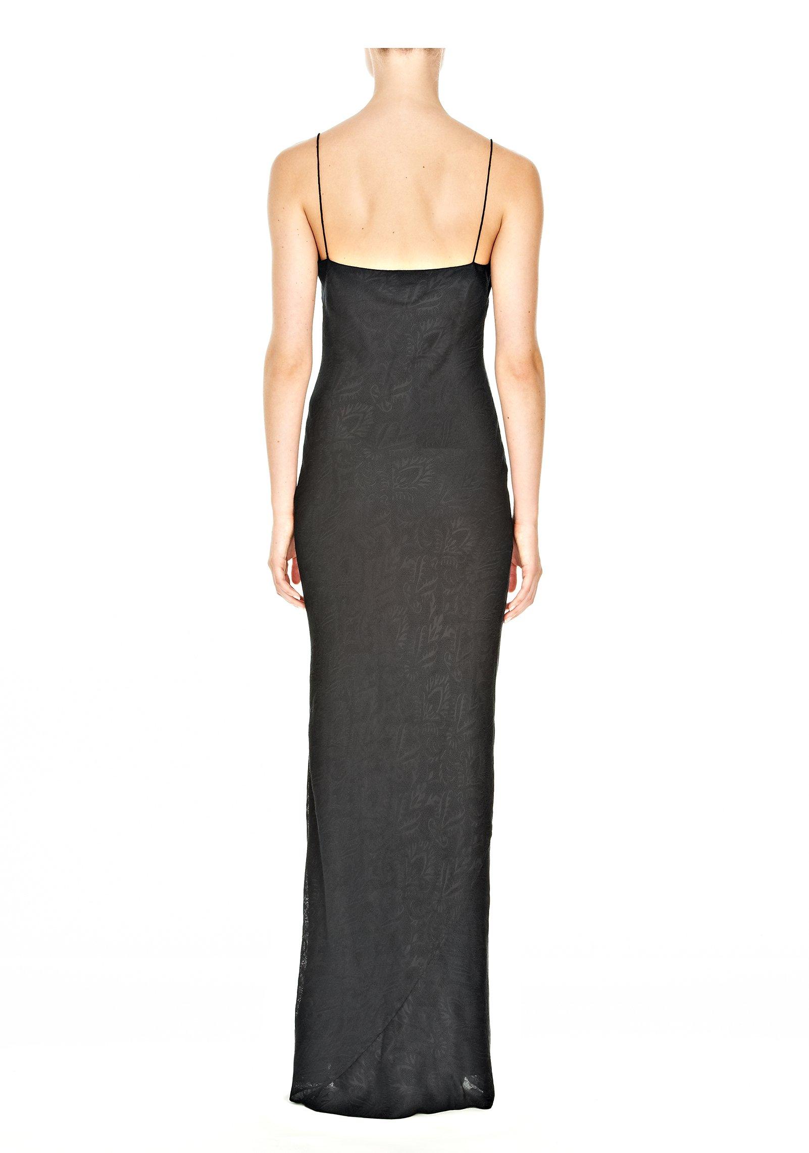 Lyst Alexander Wang Long Slip Dress In Black