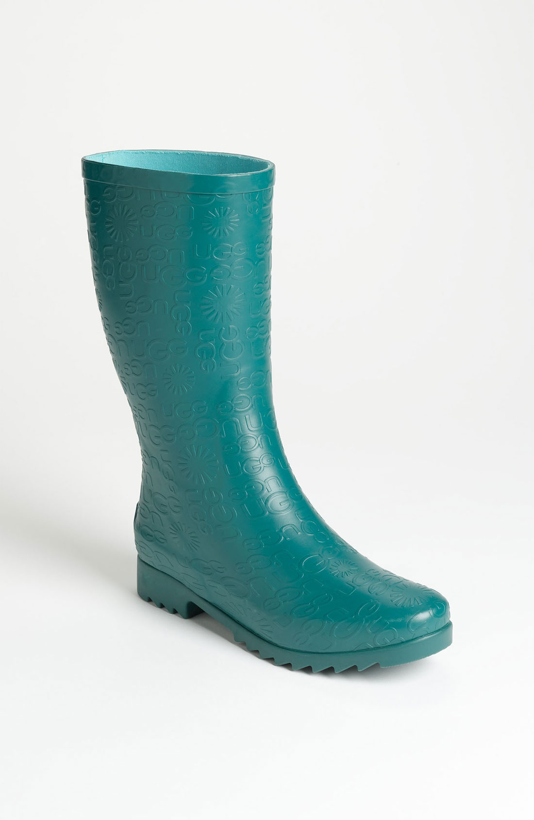 ugg wilshire logo short boot in green emerald lyst