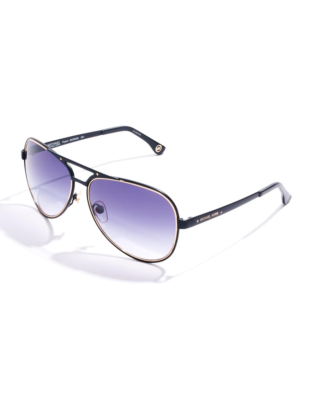 black and gold aviators e7ly  black gold aviator sunglasses