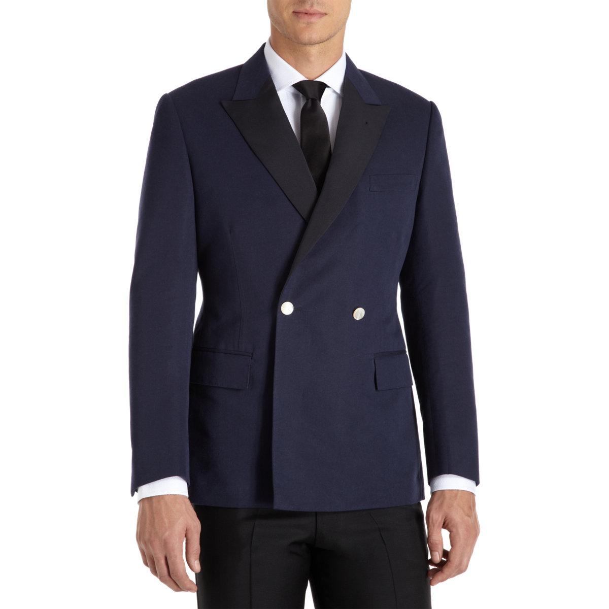 Rake Dinner Jacket In Blue For Men Navy Lyst