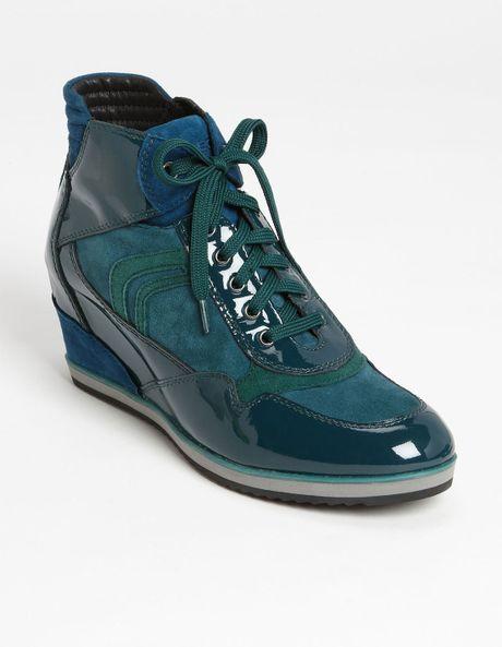 Geox Women S D Illusion A Fashion Sneaker Blue