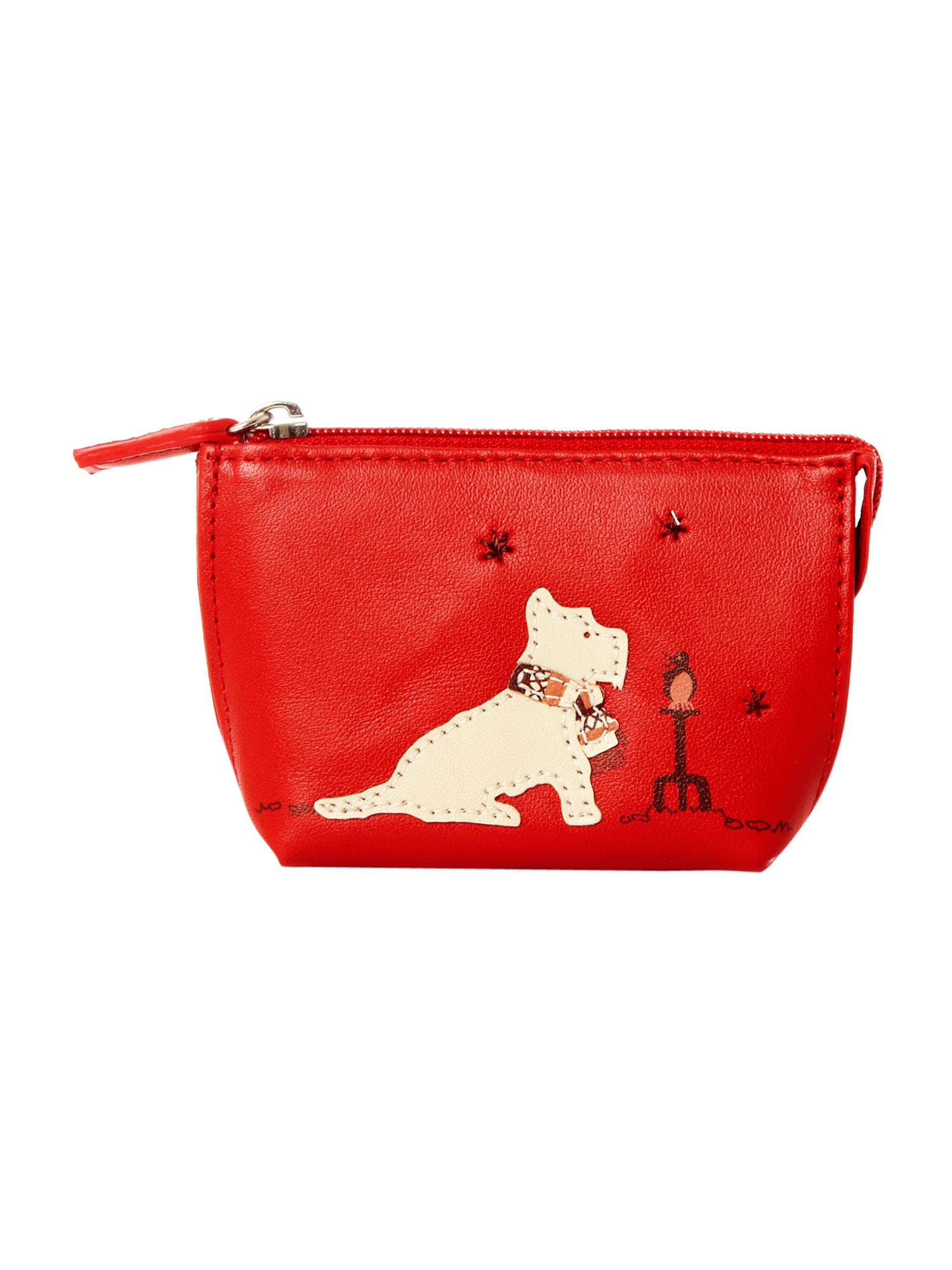 small red coin purse