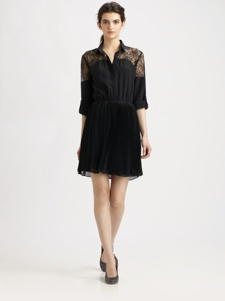 Sachin & Babi Moritz Lace Dress in Black (jet)