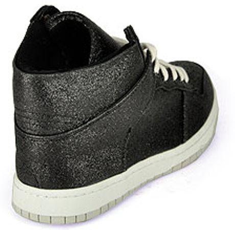 Steve Madden Shufle Black Glitter Sneaker In Black Lyst